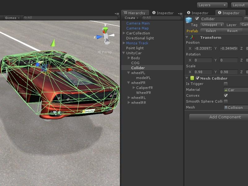 Creating a car - UnityCar Wiki